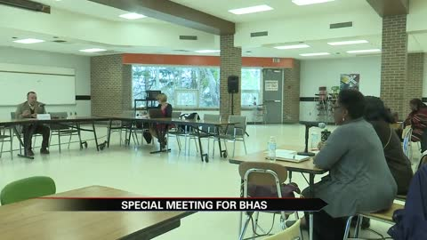 Benton Harbor Area Schools holds special meeting, following the...